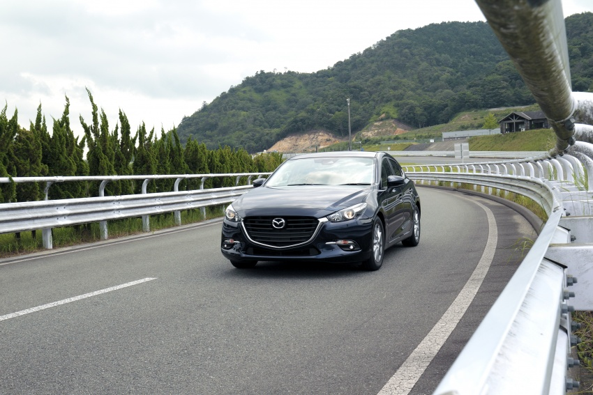 DRIVEN: 2017 Mazda 3 facelift – first impressions of the new G-Vectoring Control system Image #549717