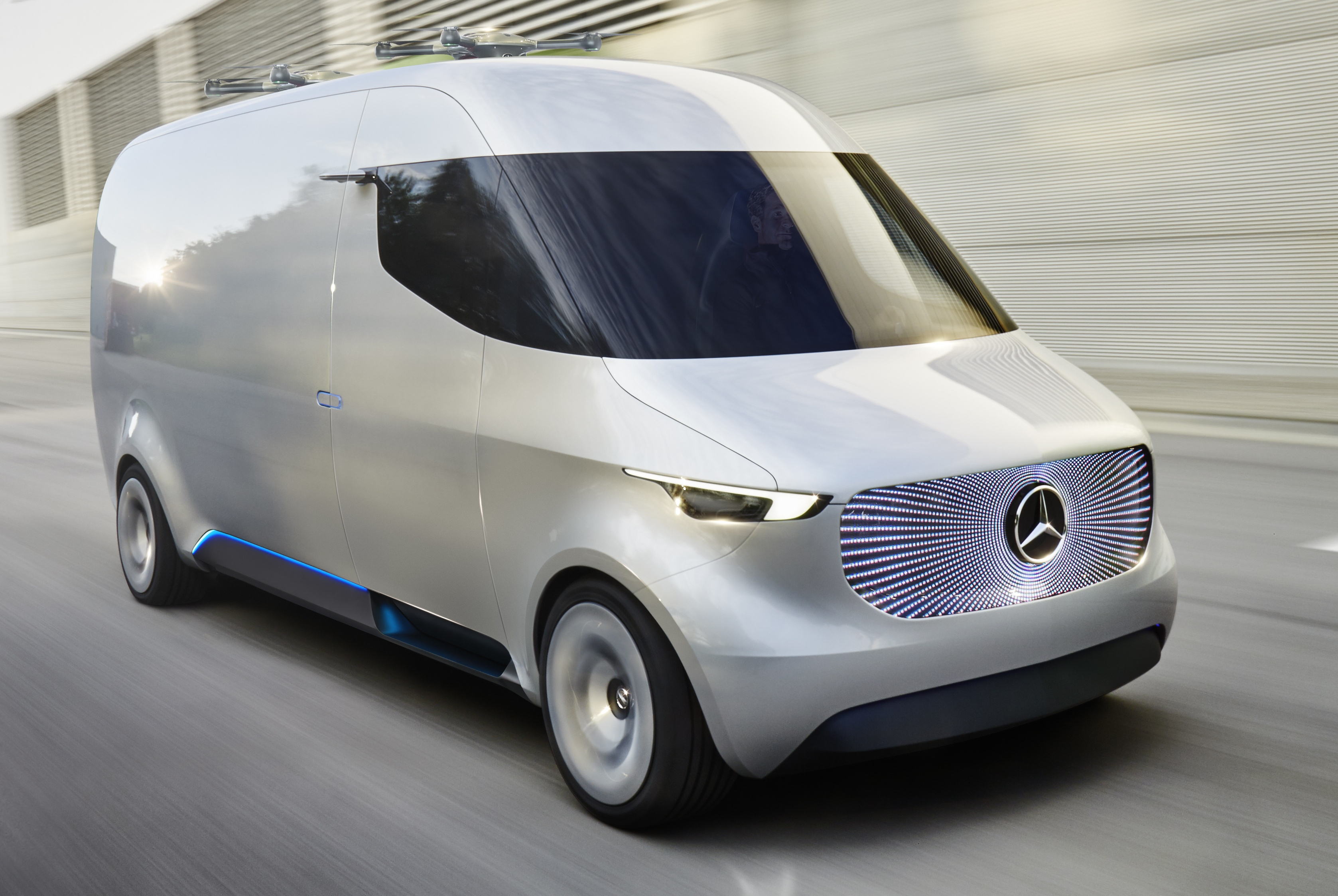 Mercedes-Benz Vision Van previews an electric future for ...