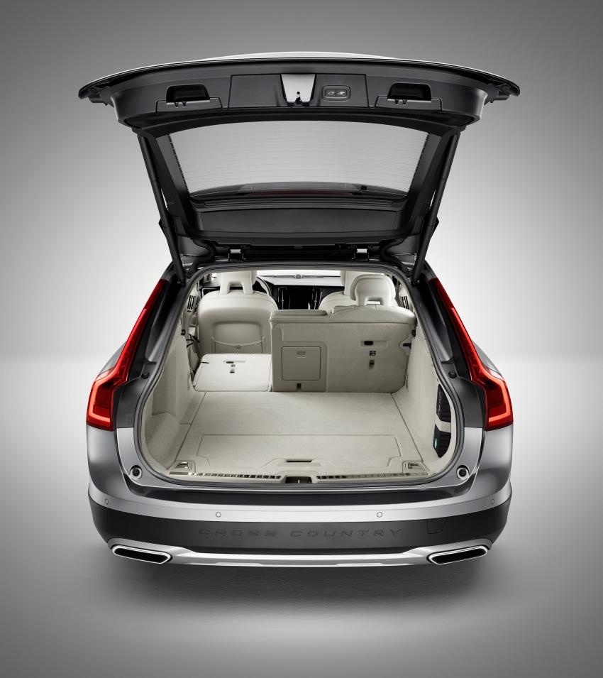 Volvo V90 Cross Country – wagon serba boleh generasi baharu kini diperkenalkan secara rasmi Image #550084