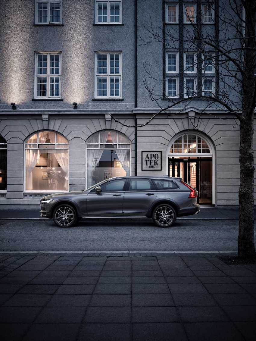 Volvo V90 Cross Country – new off-road wagon debuts Image #549766