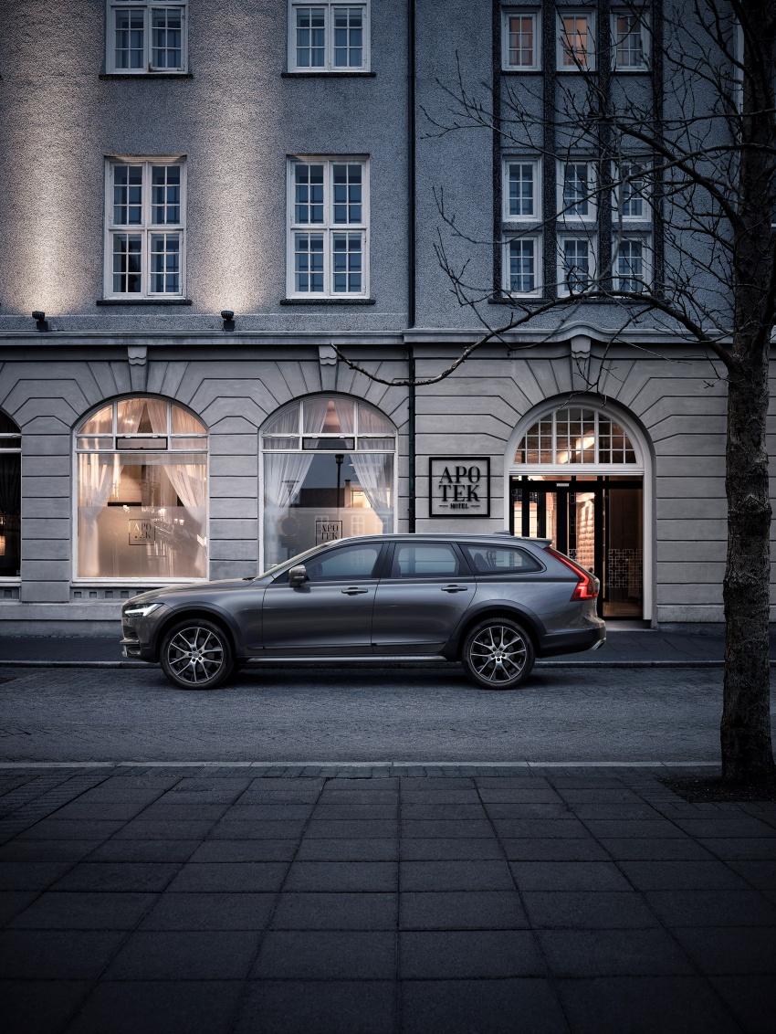 Volvo V90 Cross Country – wagon serba boleh generasi baharu kini diperkenalkan secara rasmi Image #550079