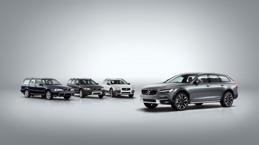 Volvo V90 Cross Country – wagon serba boleh generasi baharu kini diperkenalkan secara rasmi Image #550070
