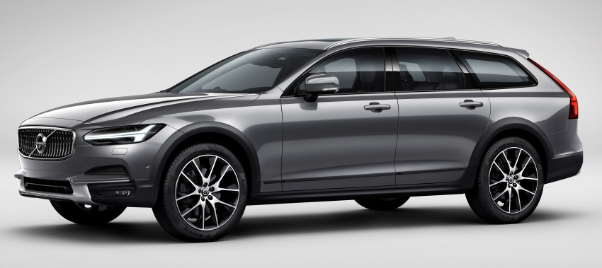 Volvo V90 Cross Country – new off-road wagon debuts Image #549776