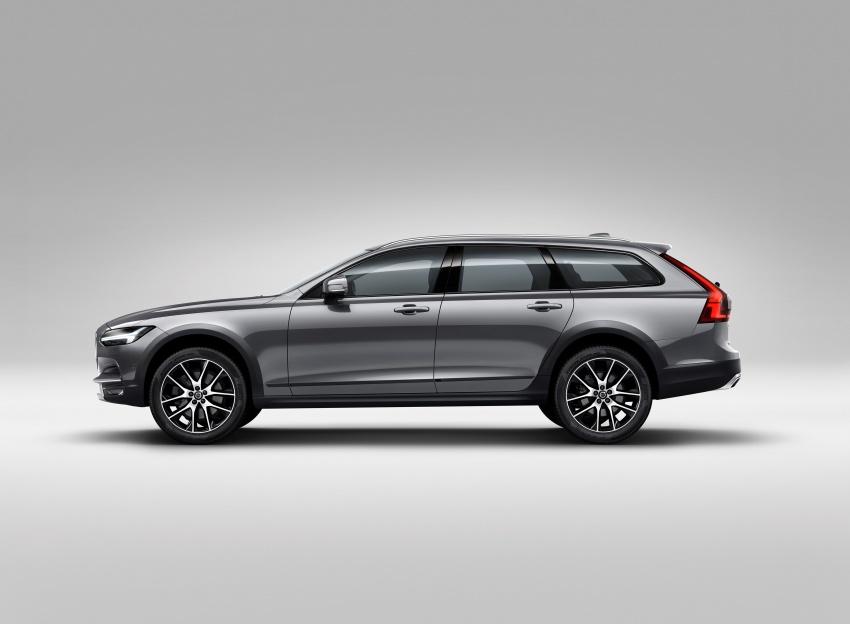 Volvo V90 Cross Country – wagon serba boleh generasi baharu kini diperkenalkan secara rasmi Image #550066