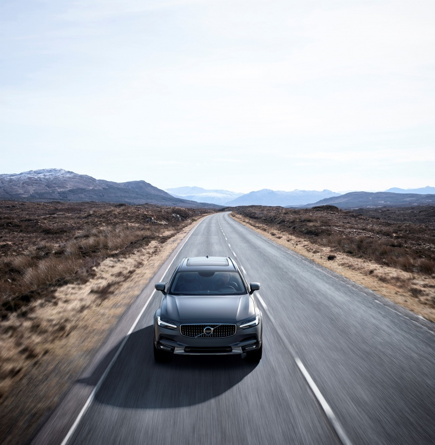 Volvo V90 Cross Country – new off-road wagon debuts Image #549784