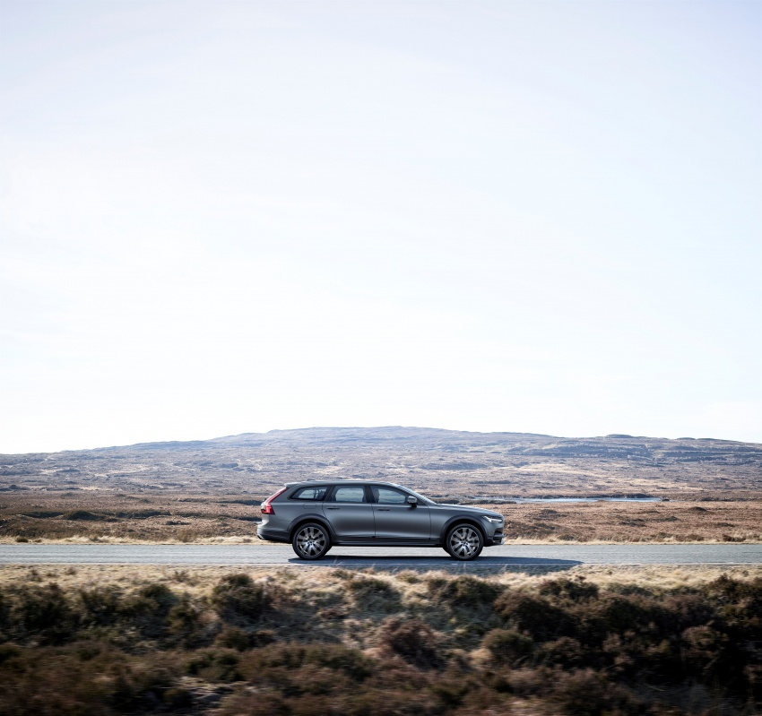 Volvo V90 Cross Country – new off-road wagon debuts Image #549787
