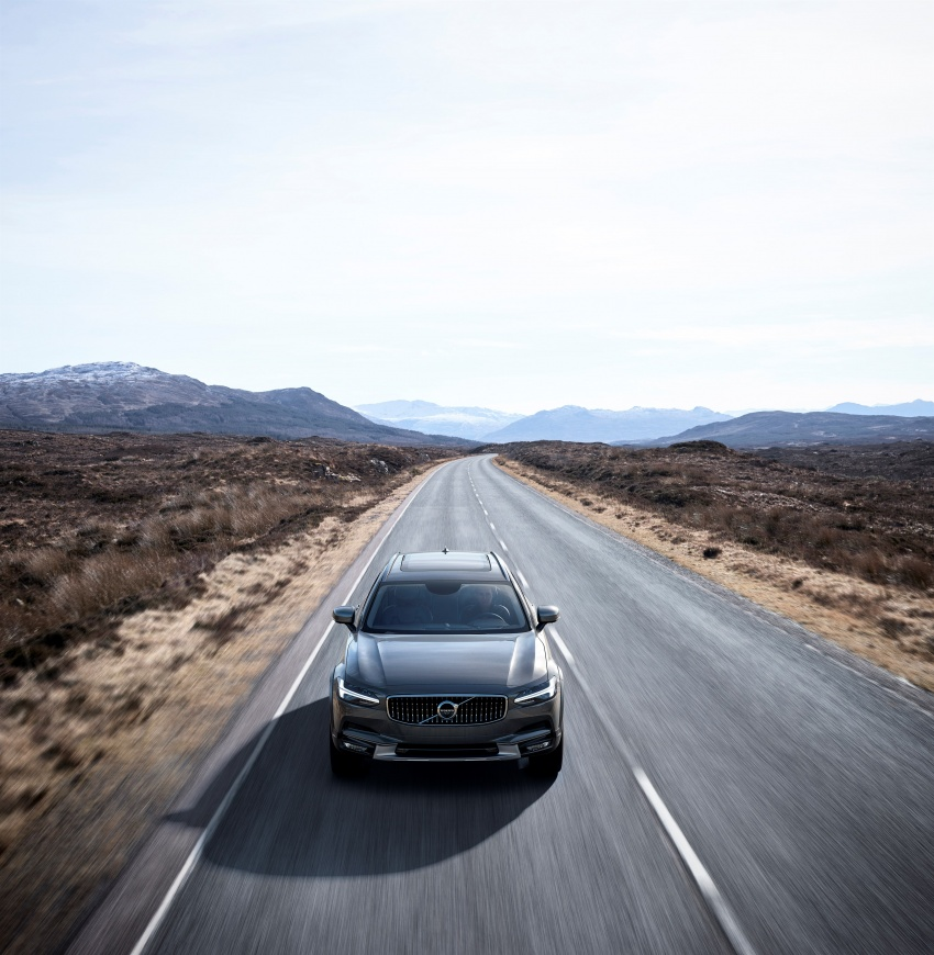 Volvo V90 Cross Country – new off-road wagon debuts Image #549792