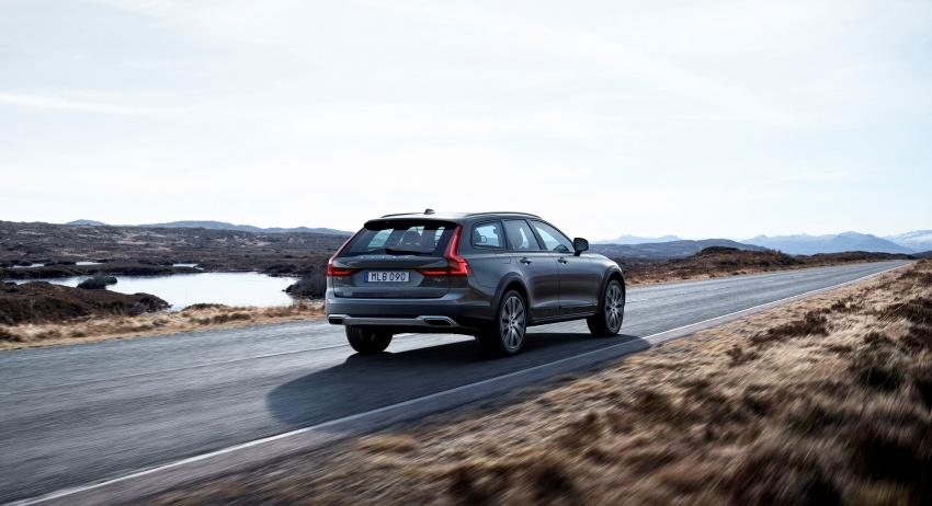 Volvo V90 Cross Country – wagon serba boleh generasi baharu kini diperkenalkan secara rasmi Image #550047