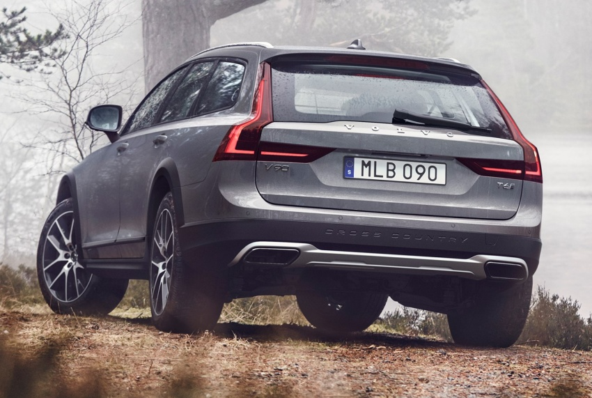 Volvo V90 Cross Country – new off-road wagon debuts Image #549801