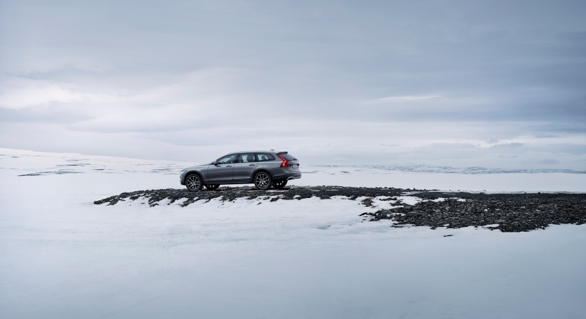 Volvo V90 Cross Country – new off-road wagon debuts Image #549803