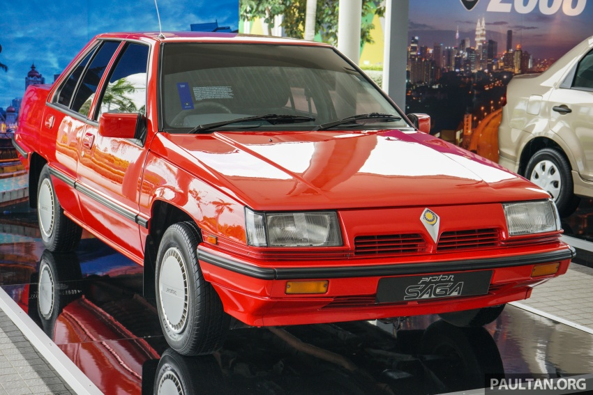 Proton Saga – all three generations side-by-side Image #555609