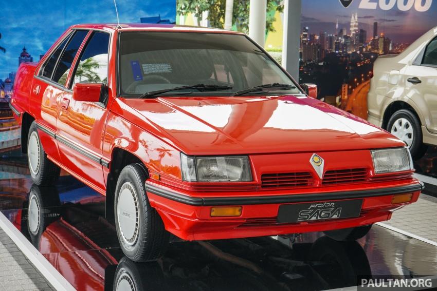 GALERI: Proton Saga dari tiga generasi Image #555122