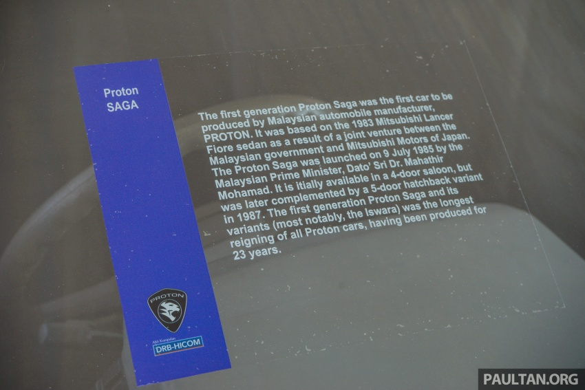 GALERI: Proton Saga dari tiga generasi Image #555108