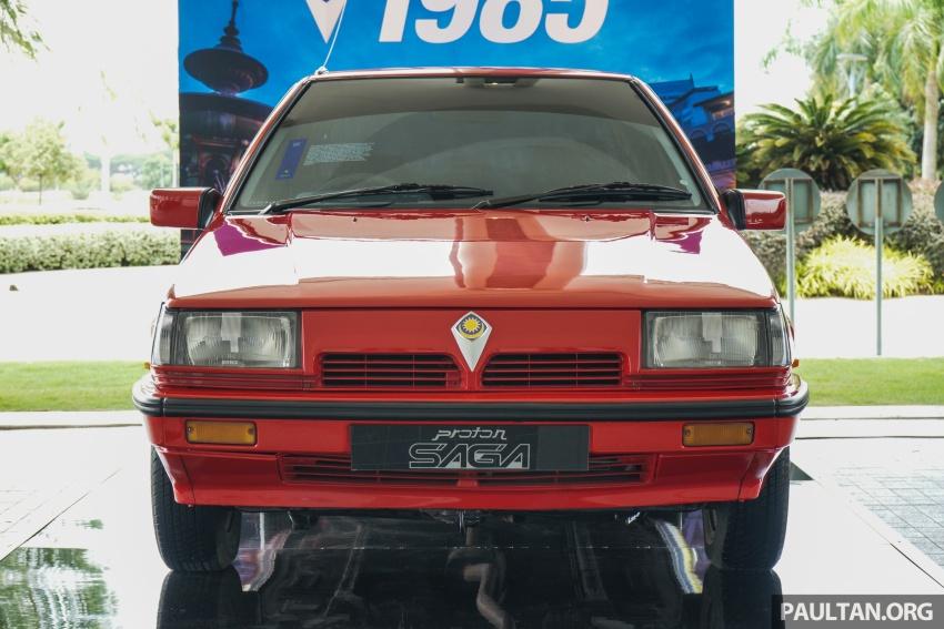 GALERI: Proton Saga dari tiga generasi Image #555120