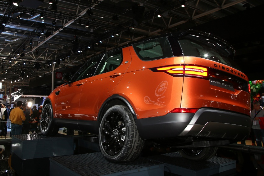 New Land Rover Discovery: full 7-seater, 480 kg lighter Image #558317