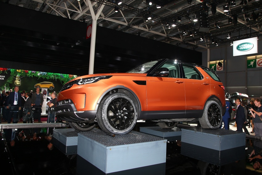 New Land Rover Discovery: full 7-seater, 480 kg lighter Image #558318