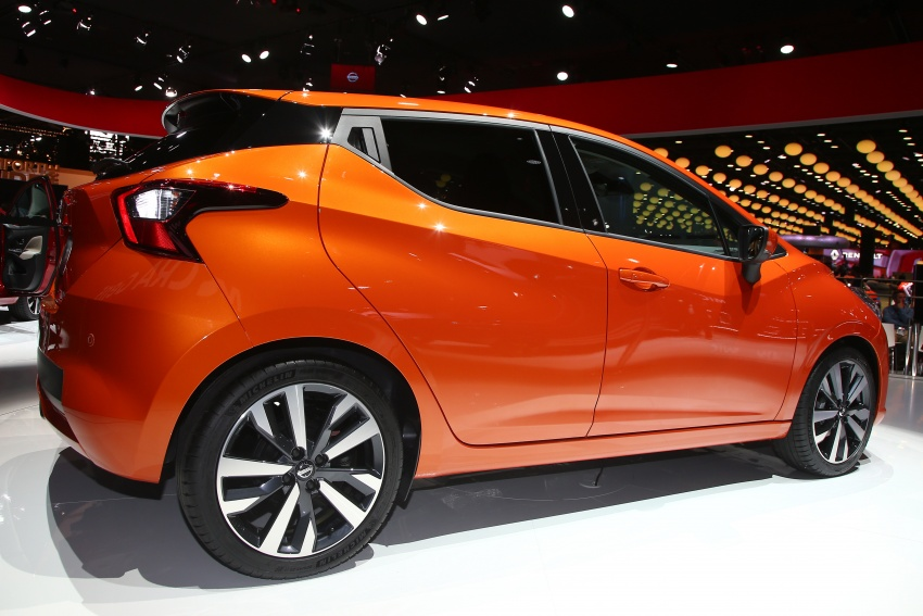 2017 Nissan March – fifth-gen officially revealed Image #558336