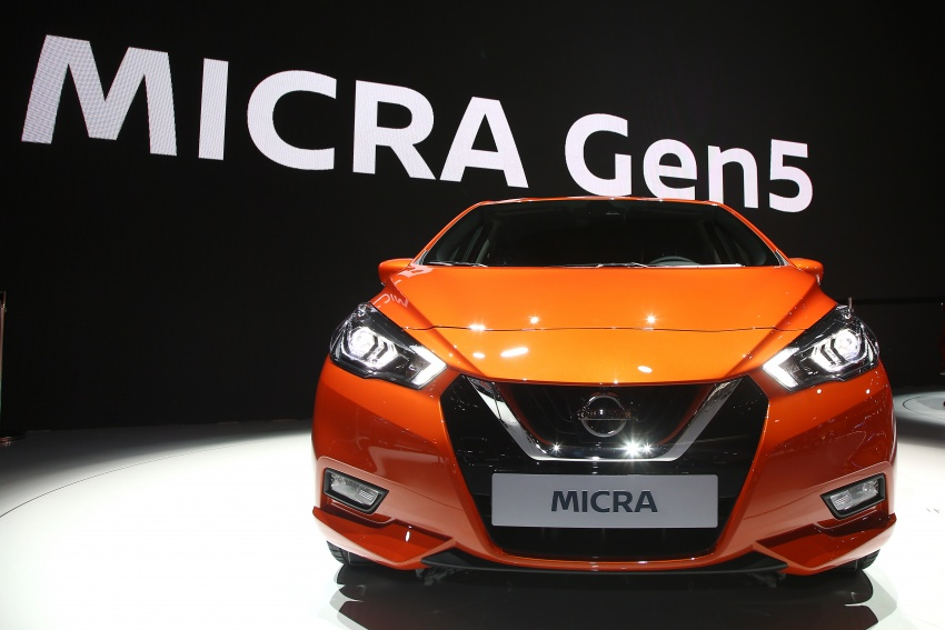 2017 Nissan March – fifth-gen officially revealed Image #558332