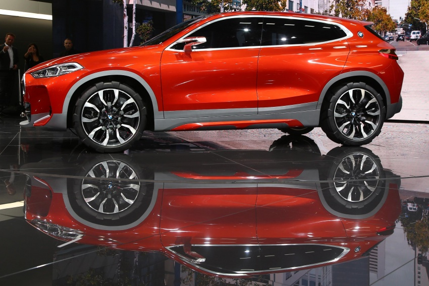 BMW Concept X2 unveiled in Paris – it's the 'X1 Coupe' Image #558271