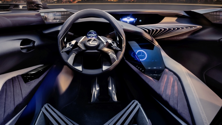 Lexus UX Concept – previewing a new compact SUV Image #557054