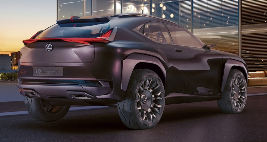 Lexus UX Concept – previewing a new compact SUV Image #557056