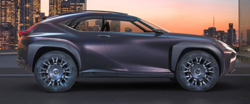 Lexus UX Concept – previewing a new compact SUV Image #557057
