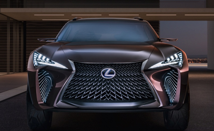 Lexus UX Concept – previewing a new compact SUV Image #557058