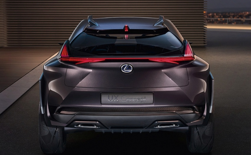 Lexus UX Concept – previewing a new compact SUV Image #557059