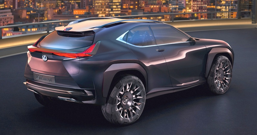 Lexus UX Concept – previewing a new compact SUV Image #557060