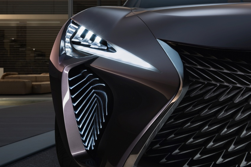 Lexus UX Concept – previewing a new compact SUV Image #557061