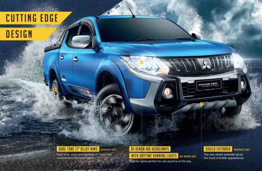 Mitsubishi Triton VGT upgraded – now with 181 PS, 430 Nm 2.4L MIVEC diesel engine, new X variant Image #544495