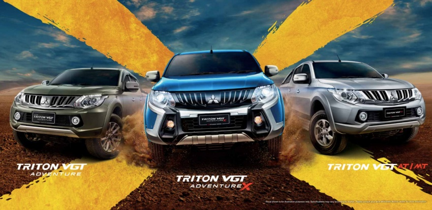Mitsubishi Triton VGT upgraded – now with 181 PS, 430 Nm 2.4L MIVEC diesel engine, new X variant Image #544500