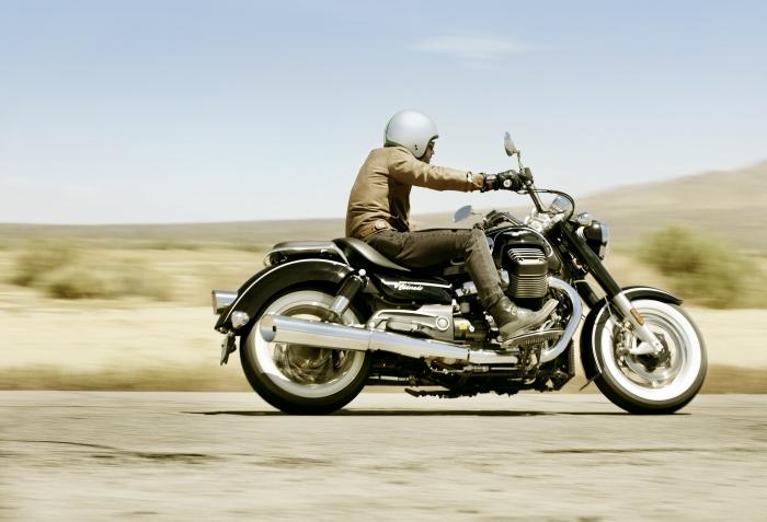Moto Guzzi Vanguard jeans V8 custom replica Image #545788