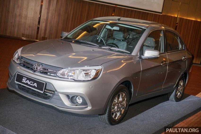 Proton Saga 2016 kini dilancarkan secara rasmi – 4 varian, 1.3L VVT, dari RM36,800 hingga RM45,800 Image #555415