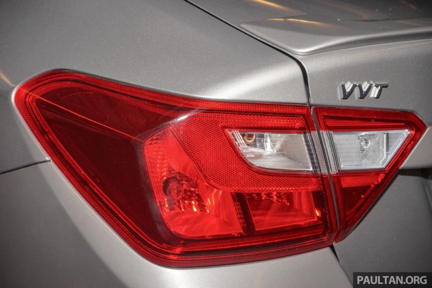 Proton Saga 2016 kini dilancarkan secara rasmi – 4 varian, 1.3L VVT, dari RM36,800 hingga RM45,800 Image #555401