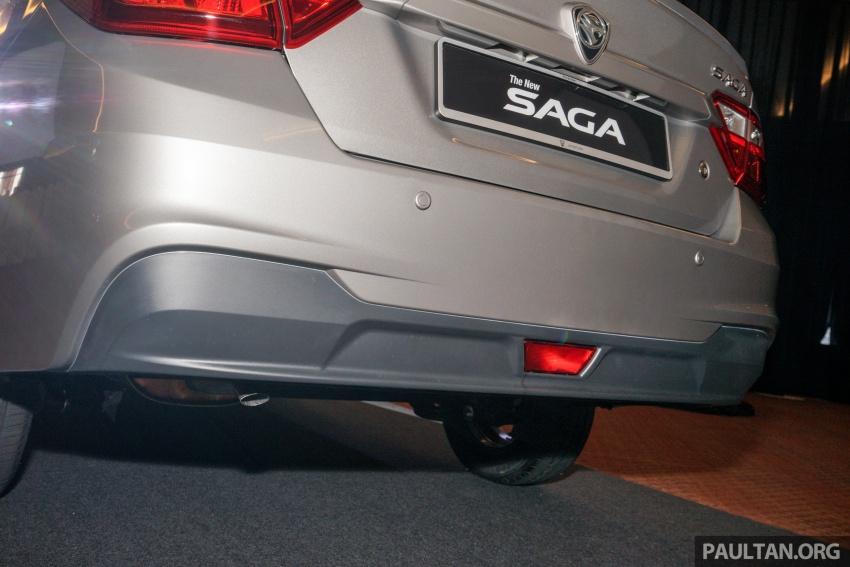 Proton Saga 2016 kini dilancarkan secara rasmi – 4 varian, 1.3L VVT, dari RM36,800 hingga RM45,800 Image #555397