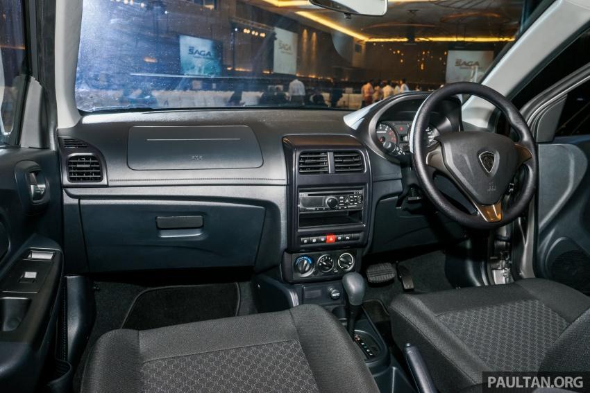 Proton Saga 2016 kini dilancarkan secara rasmi – 4 varian, 1.3L VVT, dari RM36,800 hingga RM45,800 Image #555388