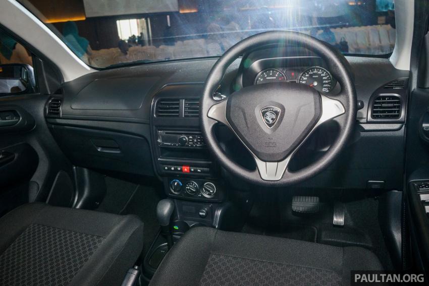 Proton Saga 2016 kini dilancarkan secara rasmi – 4 varian, 1.3L VVT, dari RM36,800 hingga RM45,800 Image #555390