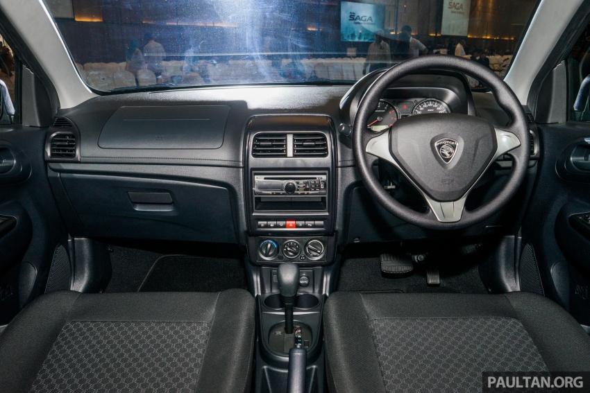 Proton Saga 2016 kini dilancarkan secara rasmi – 4 varian, 1.3L VVT, dari RM36,800 hingga RM45,800 Image #555389