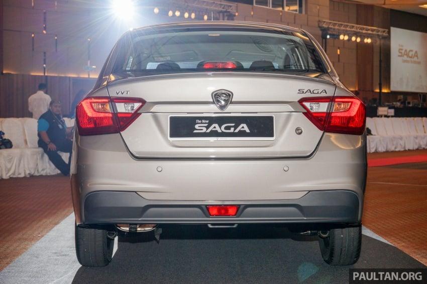 Proton Saga 2016 kini dilancarkan secara rasmi – 4 varian, 1.3L VVT, dari RM36,800 hingga RM45,800 Image #555410