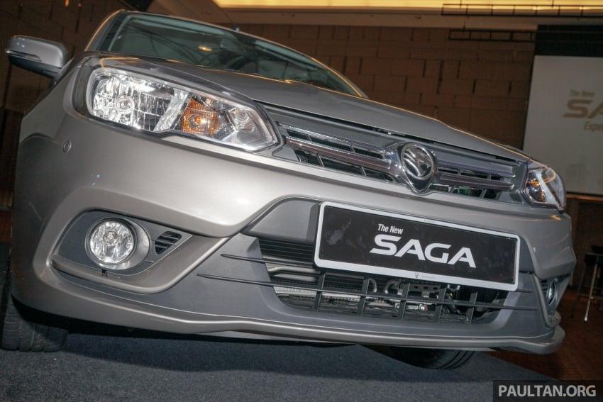 Proton Saga 2016 kini dilancarkan secara rasmi – 4 varian, 1.3L VVT, dari RM36,800 hingga RM45,800 Image #555408