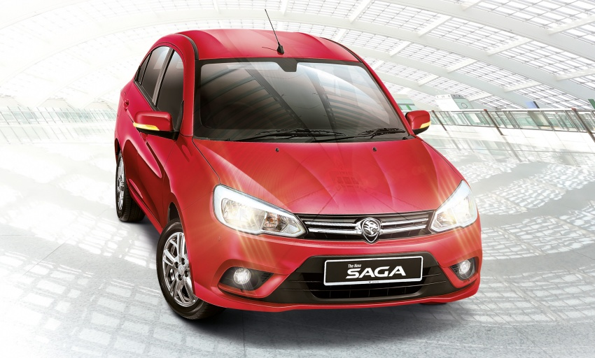 2016 Proton Saga 1.3L launched – RM37k to RM46k Image #555214