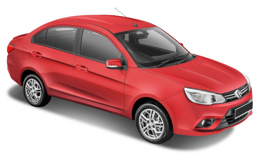 2016 Proton Saga 1.3L launched – RM37k to RM46k Image #555236