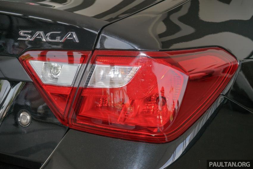 Proton Saga 2016 kini dilancarkan secara rasmi – 4 varian, 1.3L VVT, dari RM36,800 hingga RM45,800 Image #555299