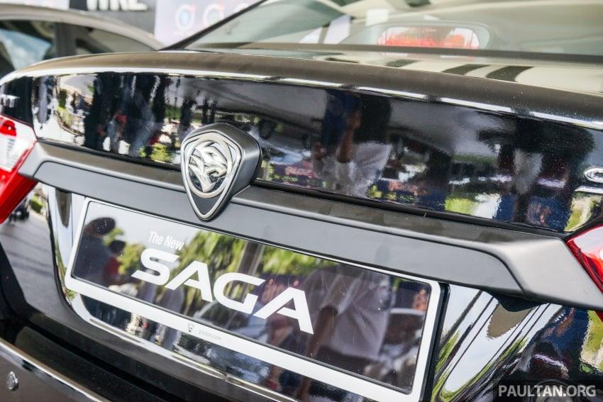 Proton Saga 2016 kini dilancarkan secara rasmi – 4 varian, 1.3L VVT, dari RM36,800 hingga RM45,800 Image #555292