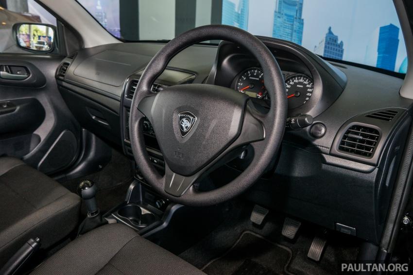Proton Saga 2016 kini dilancarkan secara rasmi – 4 varian, 1.3L VVT, dari RM36,800 hingga RM45,800 Image #555286