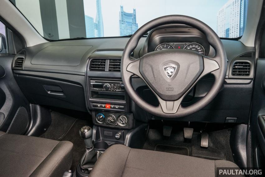 Proton Saga 2016 kini dilancarkan secara rasmi – 4 varian, 1.3L VVT, dari RM36,800 hingga RM45,800 Image #555284