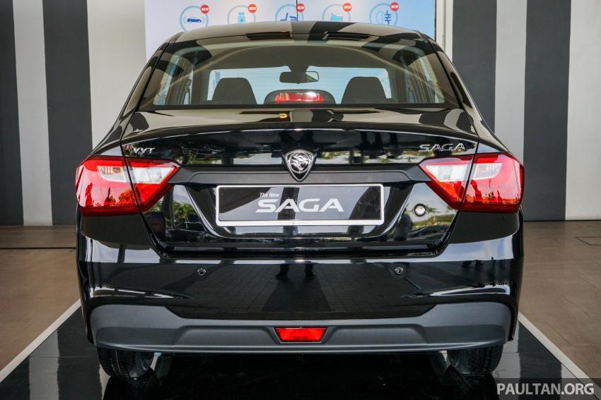Proton Saga 2016 kini dilancarkan secara rasmi – 4 varian, 1.3L VVT, dari RM36,800 hingga RM45,800 Image #555314