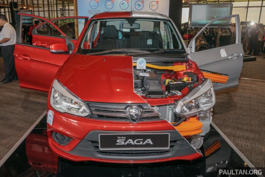 2016 Proton Saga four-star ASEAN NCAP body cutout Image #555203