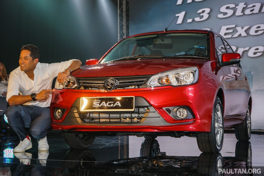 2016 Proton Saga 1.3L launched – RM37k to RM46k Image #555095